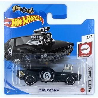 Hot Wheels 1:64 Rodger Dodger Black