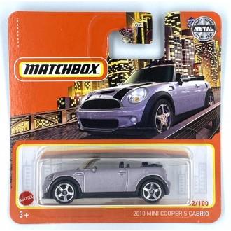 Matchbox 1:64 2010 Mini Cooper S Cabrio