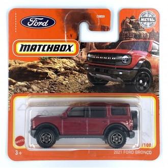 Matchbox 1:64 2021 Ford Bronco