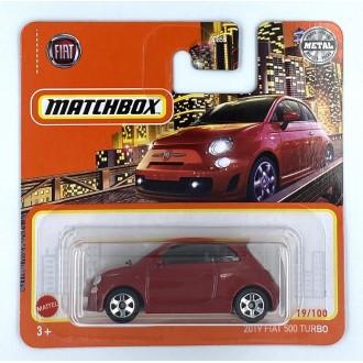 Matchbox 1:64 2019 Fiat 500 Turbo