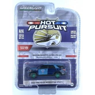 Greenlight 1:64 Hot Pursuit - 2020 Ford Police Interceptor Utility Green Machine