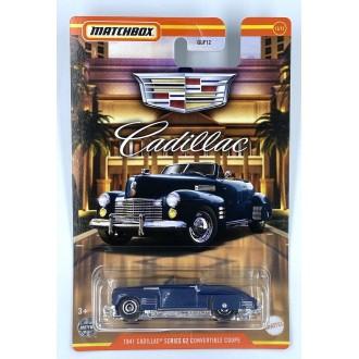 Matchbox 1:64 Cadillac Series - 1941 Cadillac Series 62 Convertible Blue