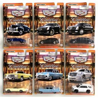 Matchbox 1:64 Cadillac Series - Set 6 szt.