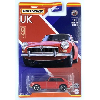 Matchbox 1:64 Best of UK - 1971 MGB Coupe GT Red