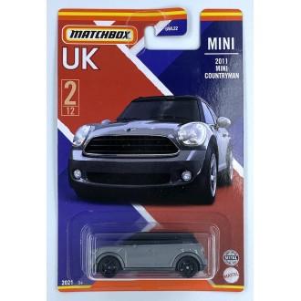 Matchbox 1:64 Best of UK - 2011 Mini Countryman Grey