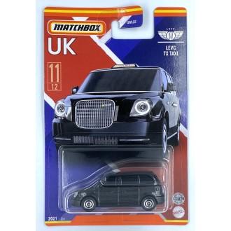 Matchbox 1:64 Best of UK - LEVC TX Taxi Black