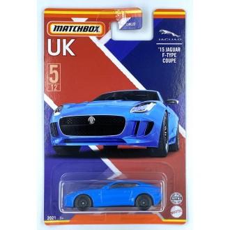 Matchbox 1:64 Best of UK - 2015 Jaguar F-Type Coupe Blue