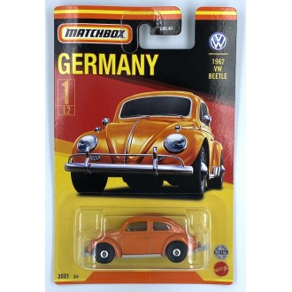 Matchbox 1:64 Best of Germany - 1962 Volkswagen Beetle