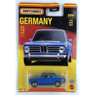 Matchbox 1:64 Best of Germany - 1969 BMW 2002