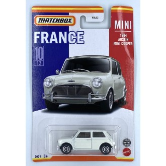 Matchbox 1:64 Best of France - 1964 Austin Mini Cooper