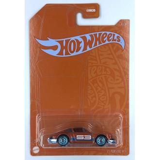 Hot Wheels 1:64 Satin & Chrome Series - 1971 Porsche 911