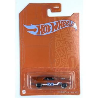 Hot Wheels 1:64 Satin & Chrome Series - 1970 Dodge Hemi Challenger