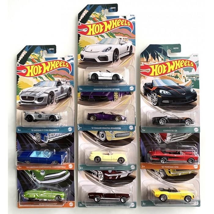 Hot Wheels 1:64 Premium Series - Set 10 szt.