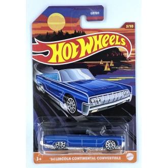 Hot Wheels 1:64 Premium Series - 1964 Lincoln Continental Convertible