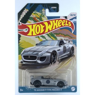 Hot Wheels 1:64 Premium Series - 2015 Jaguar F Type Project 7