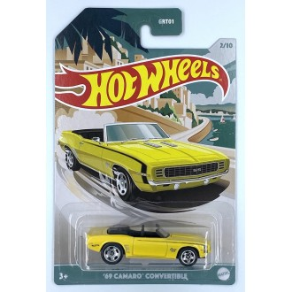 Hot Wheels 1:64 Premium Series - 1969 Chevrolet Camaro Convertible