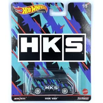 Hot Wheels 1:64 Pop Culture - Speed Shop Garage - MBK Van HKS