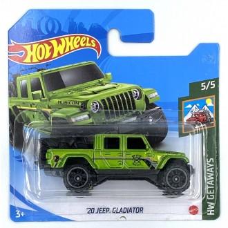 Hot Wheels 1:64 '20 Jeep Gladiator Green