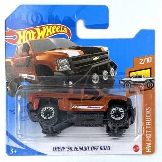 Hot Wheels 1:64 Chevy Silverado Off Road