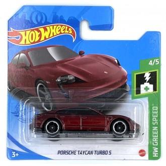 Hot Wheels 1:64 Porsche Taycan Turbo S Burgundy