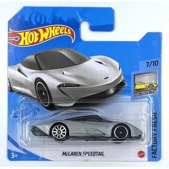 Hot Wheels 1:64 McLaren Speedtail Silver
