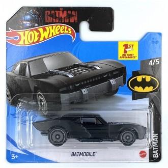 Hot Wheels 1:64 Batmobile Black