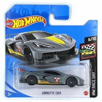 Hot Wheels 1:64 Corvette C8.R Grey