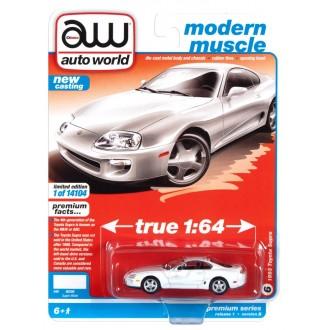 Auto World 1:64 - 1993 Toyota Supra Super White
