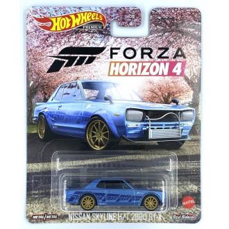 Hot Wheels 1:64 Retro Entertainment - Nissan Skyline H/T 2000 GT-X Forza 4