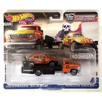 Hot Wheels 1:64 Team Transport - Horizon Hauler & Volkswagen Baja Bug Hoonigan