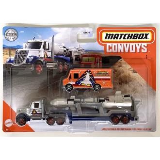 Matchbox 1:64 Convoys - Lonestar Cab & Rocket Trailer Express Delivery