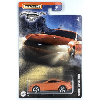 Matchbox 1:64 Mustang Series - 2019 Ford Mustang Coupe