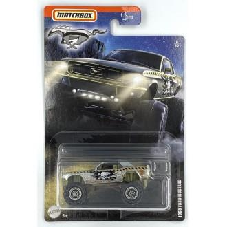 Matchbox 1:64 Mustang Series - 1968 Ford Mustang