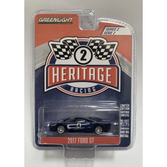 Greenlight 1:64 Ford Racing Heritage 2017 Ford GT Navy