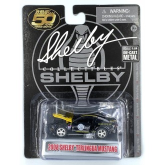 Shelby 1:64 2008 Ford Mustang Shelby Terlingua Black