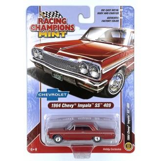 Racing Champions 1:64 1964 Chevrolet Impala SS 409 Riverside Red