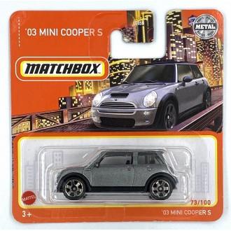 Matchbox 1:64 2003 Mini Cooper S Grey