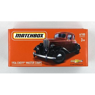 Matchbox 1:64 Power Grab - 1934 Chevrolet Master Coupe