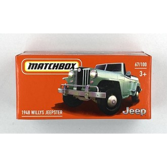 Matchbox 1:64 Power Grab - Willys Jeepster