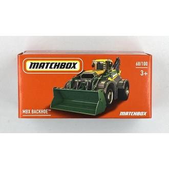 Matchbox 1:64 Power Grab - Backhoe Vehicle