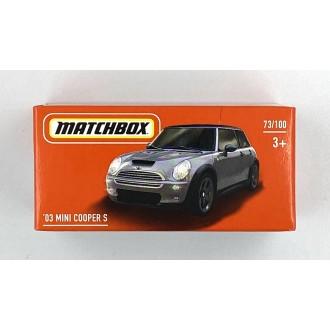Matchbox 1:64 Power Grab - 2003 Mini Cooper
