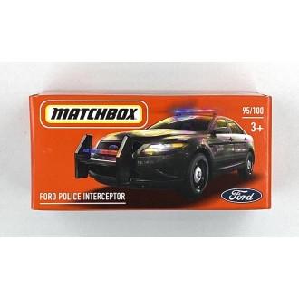 Matchbox 1:64 Power Grab - Ford Police Interceptor
