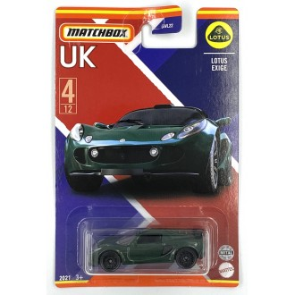 Matchbox 1:64 Best of UK - Lotus Exige
