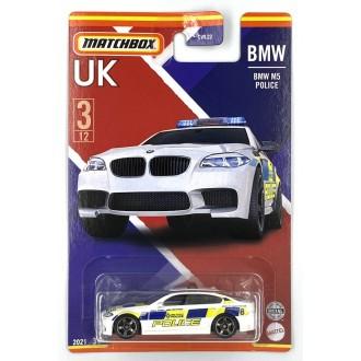 Matchbox 1:64 Best of UK - BMW M5 Police