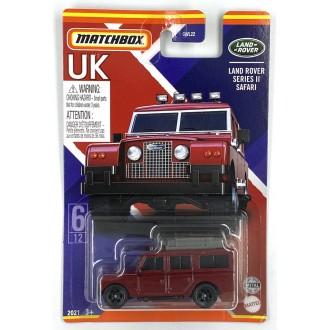 Matchbox 1:64 Best of UK - Land Rover Series II Safari