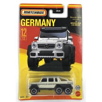 Matchbox 1:64 Best of Germany - Mercedes Benz G63 AMG 6x6 White