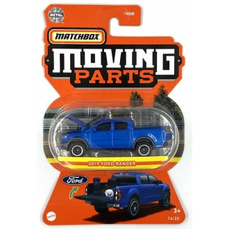 Matchbox 1:64 Moving Parts - 2019 Ford Ranger
