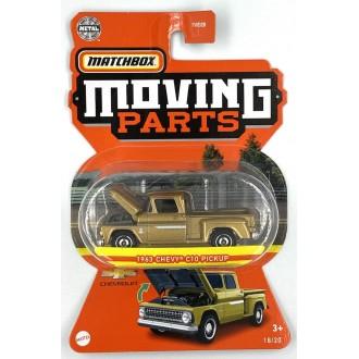 Matchbox 1:64 Moving Parts - 1963 Chevrolet C10 Pickup