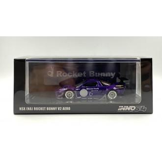 Inno64 1:64 Honda NSX NA Rocket Bunny V2 AERO Metallic Purple