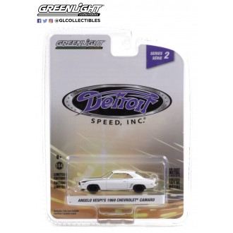 Greenlight 1:64 Detroit Speed - Angelo Vespi's 1969 Chevrolet Camaro